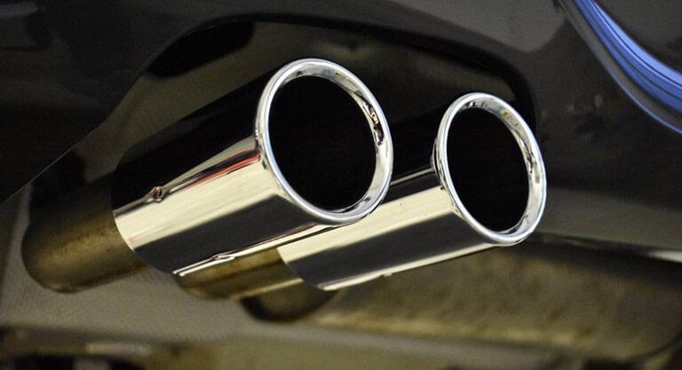 Exhaust pipe polishing