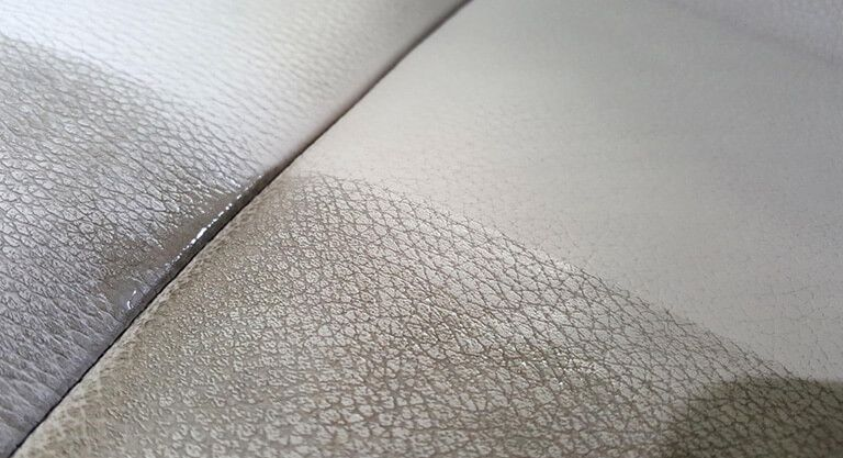Leather cleaning and detailing