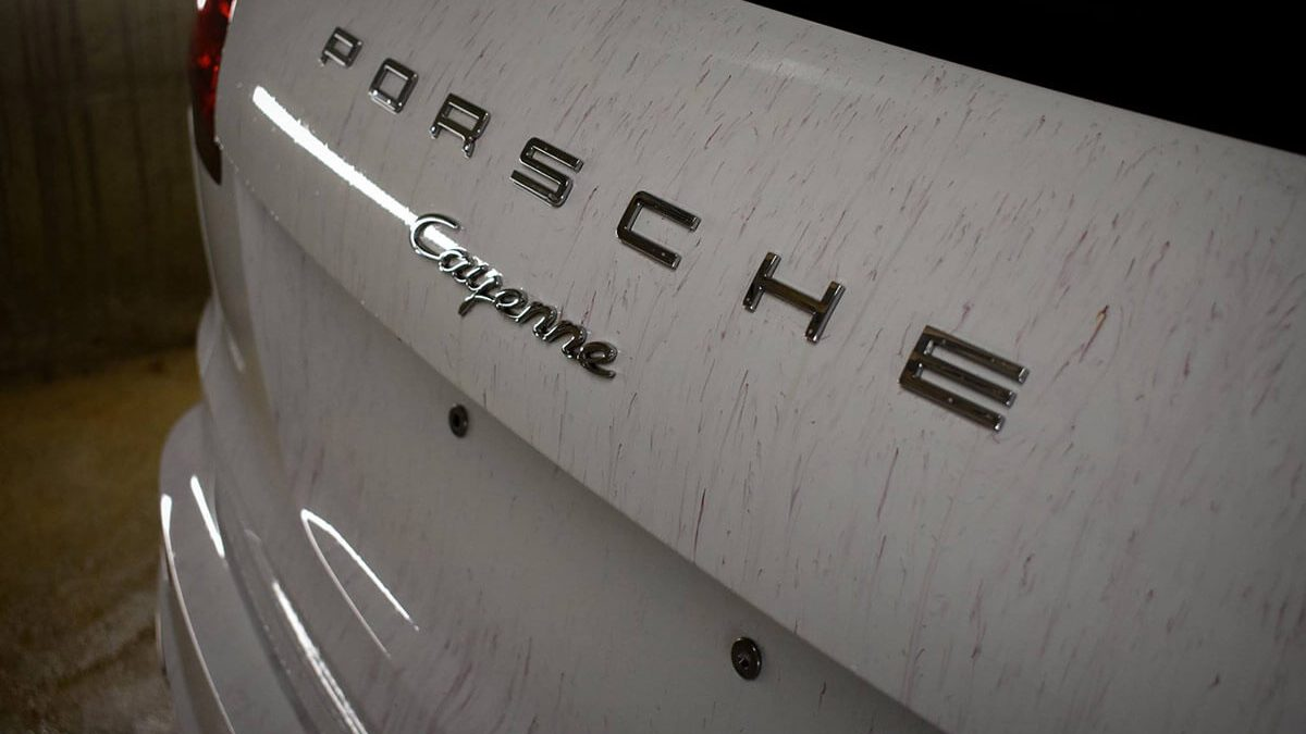 Avtokozmetika Kristal – Profesionalno detajlno čiščenje, poliranje in zaščita - Porsche Cayenne Diesel