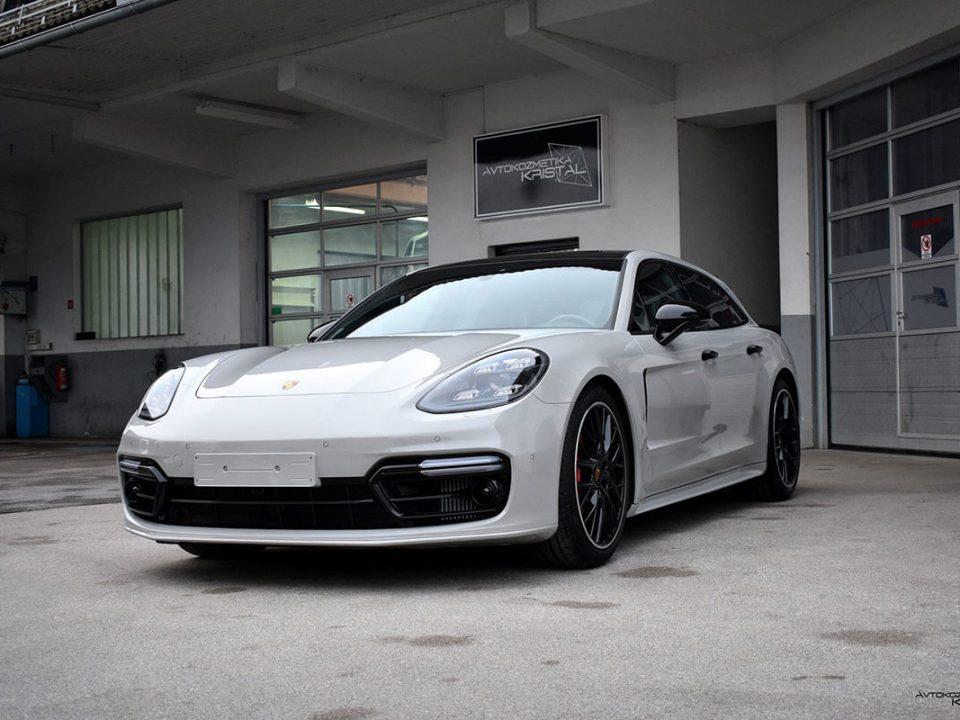 Avtokozmetika Kristal – Profesionalno detajlno čiščenje, poliranje in zaščita - Porsche Panamera Sport Turismo Turbo