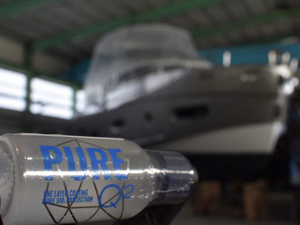 Avtokozmetika Kristal – Profesionalno detajlno čiščenje, poliranje in zaščita - Plovilo Azimut Magellano 66